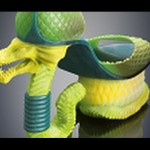 3D Printed Fashion Created Using Stratasys Color, Multi-material 3D Printing