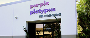 Purple Platypus 3D Printing Irvine